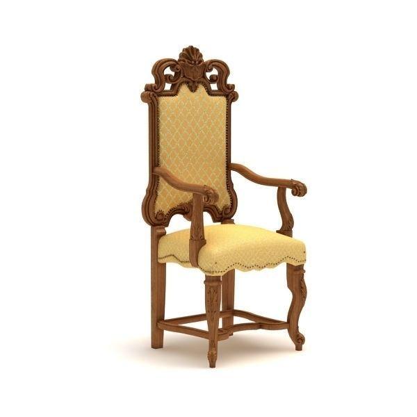 Carved armchair - 3