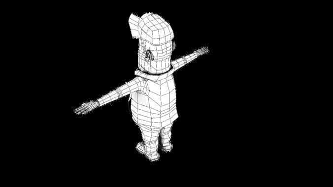 character cartoon3D model