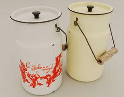 3D model Authentic cans Soviet times