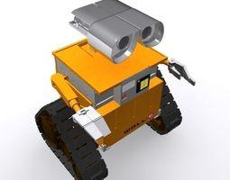 3D model Robotic Film Character