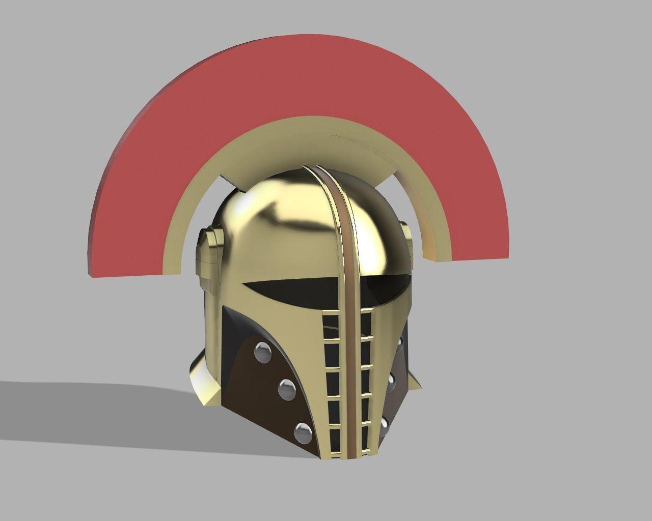 Custom Mandalorian Helmet Tool cabinete concept