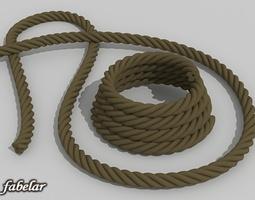 Ropes 3D Model