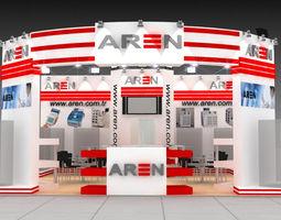 3D Aren Medikal exhibition stand design