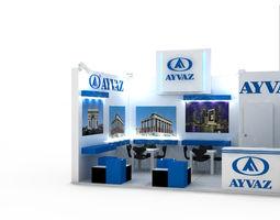 ayvaz exhibition stand design 2 3d
