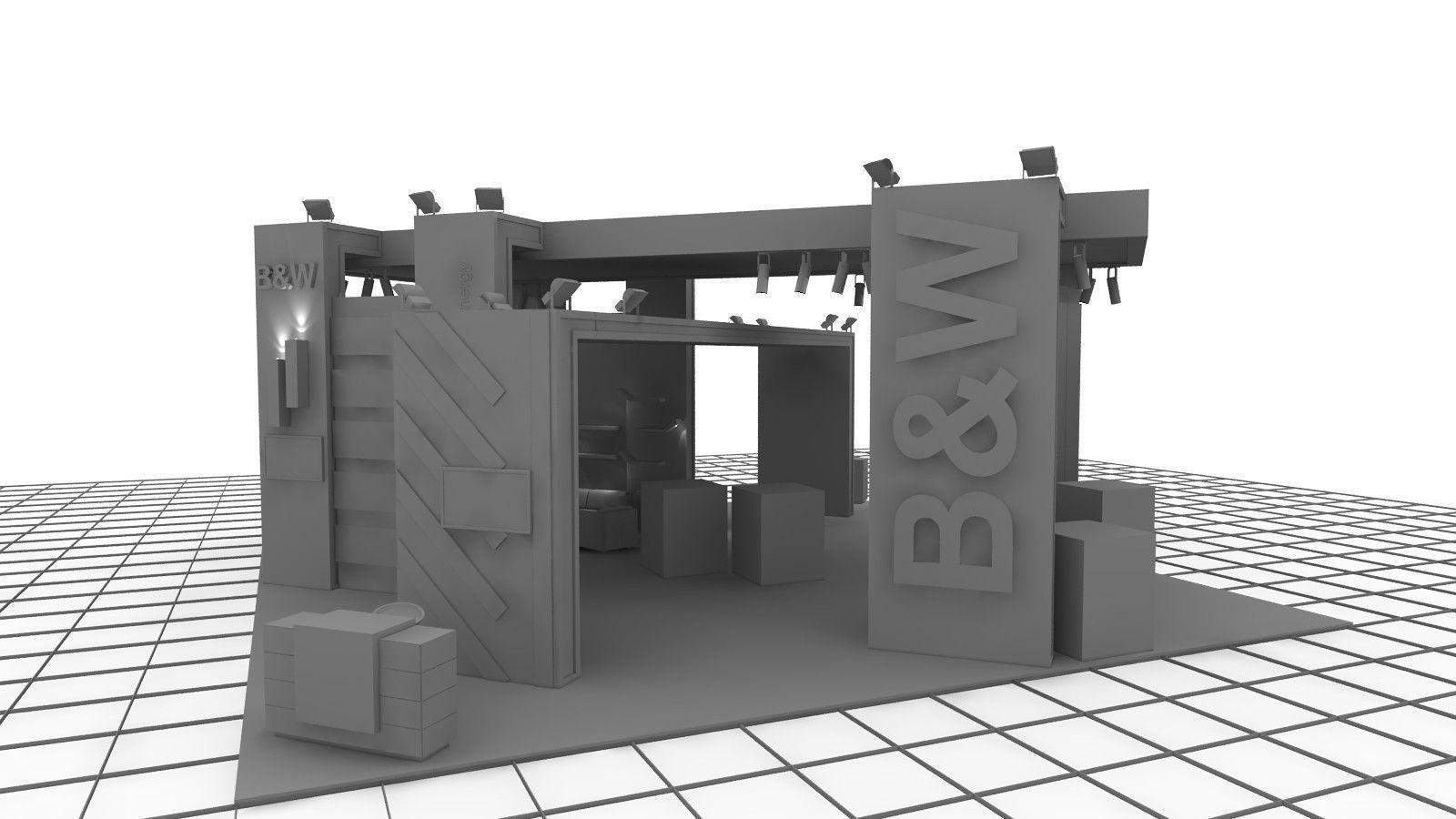 B-M Exhibition Stand Design