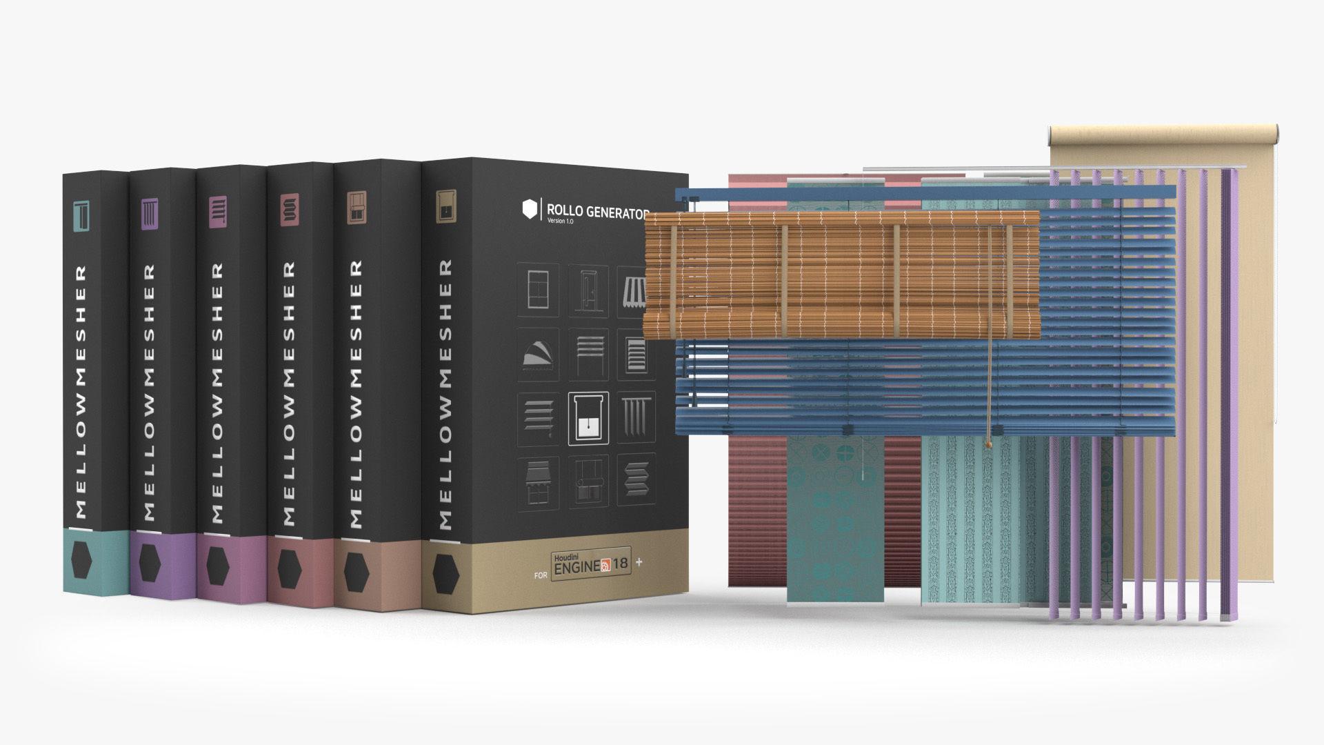 Interior Blind Generator Collection HDA
