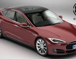 Tesla Model S 2015 3D Model