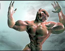 Mutant boy 3D Model