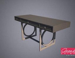 classical drawer 08 3d model