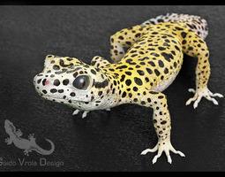 3d leopard gecko