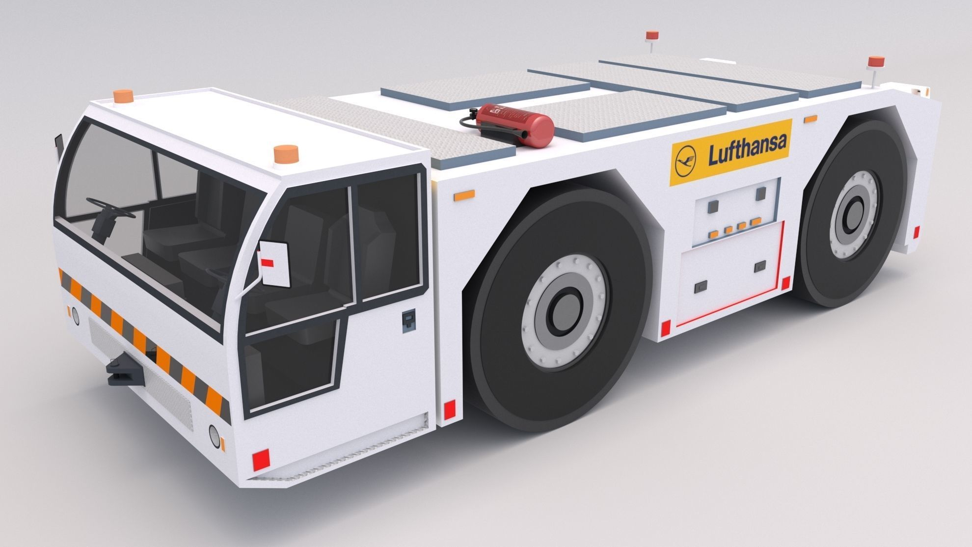 Lufthansa Towing Tractor