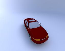 Saturn LS Sedan 2001 3D