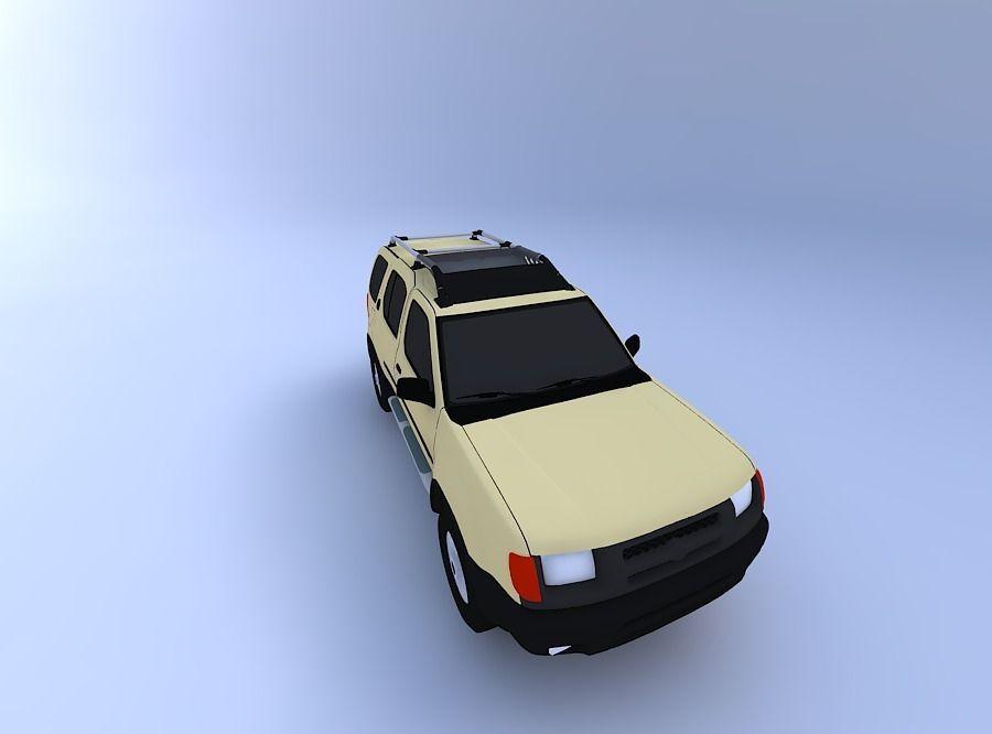 Nissan Xterra 99 3d Model Cgtrader