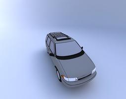 3D Nissan Quest 98