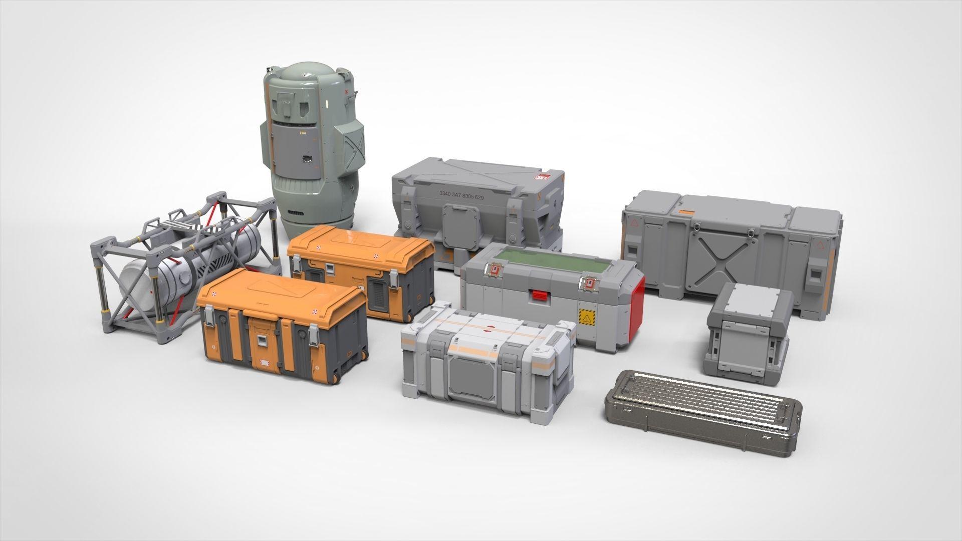 sci fi Container 3
