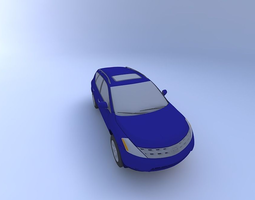 Nissan Murano SL 2004 with Interior 3D model