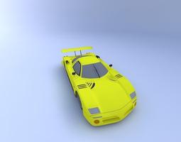 3D LeMans Race Car