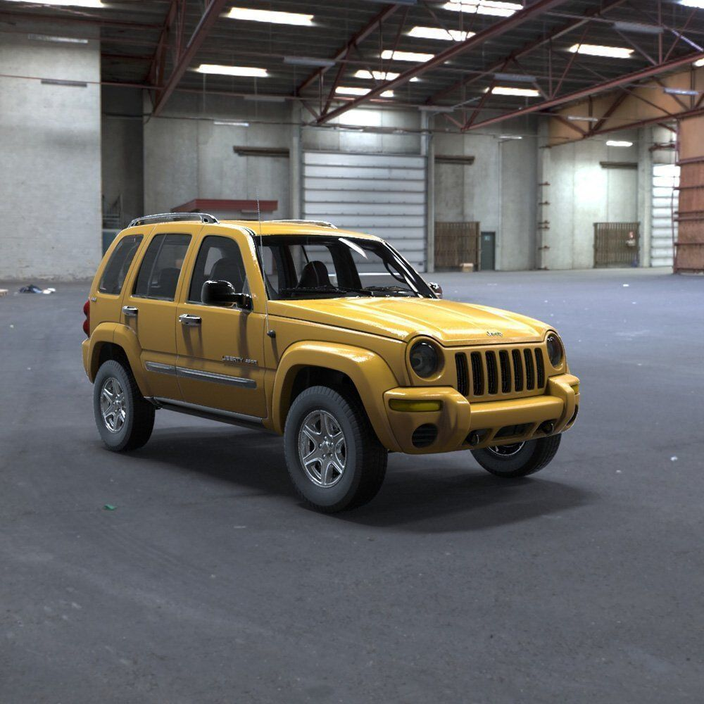 Liberty Jeeps: Jeep Liberty Sport 2002 Interior