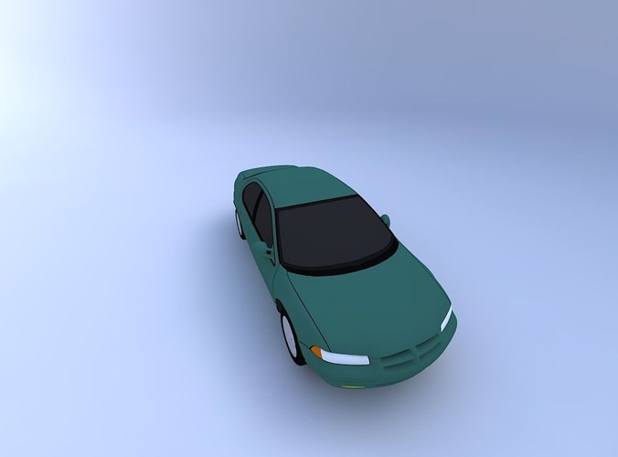 Dodge Stratus 98 3D Model