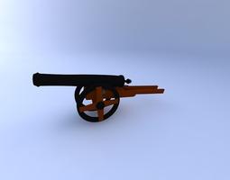 cannon3 3d model