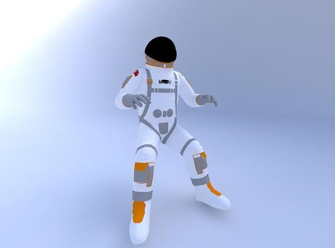 Astronaut_w_texture 3D Model .obj - CGTrader.com