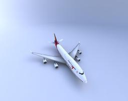 3D model 747-400 Aircraft