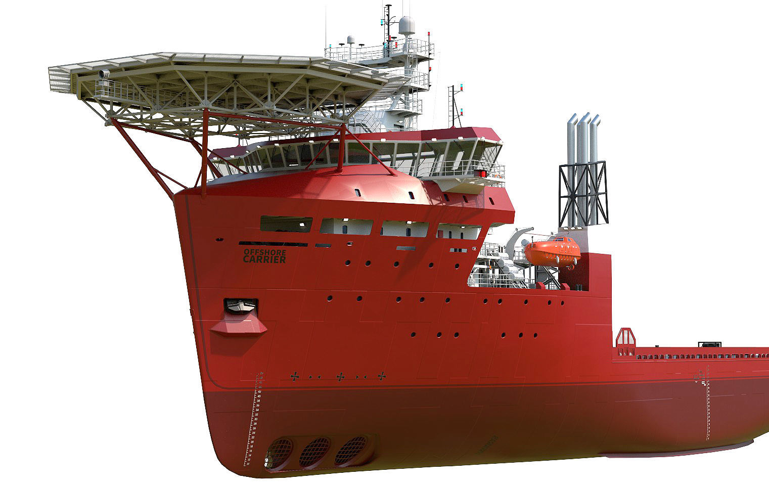 Offshore Carrier RED hquality