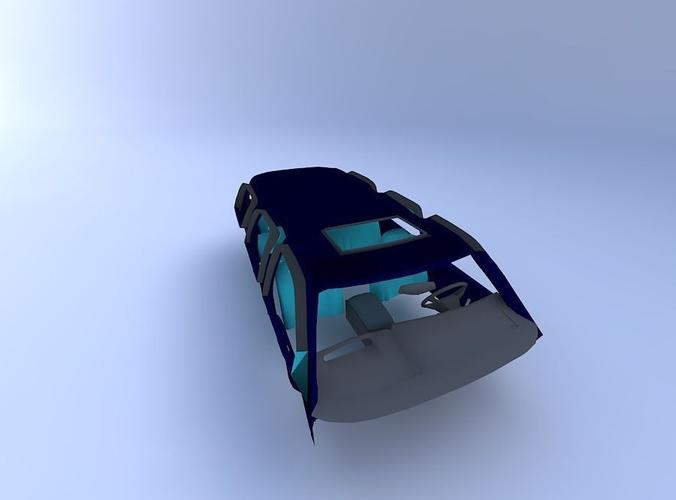 1999 Cadillac Escalade Interior 3d Cgtrader