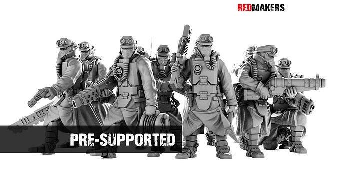 Death Squad Engineers of the Imperial Force