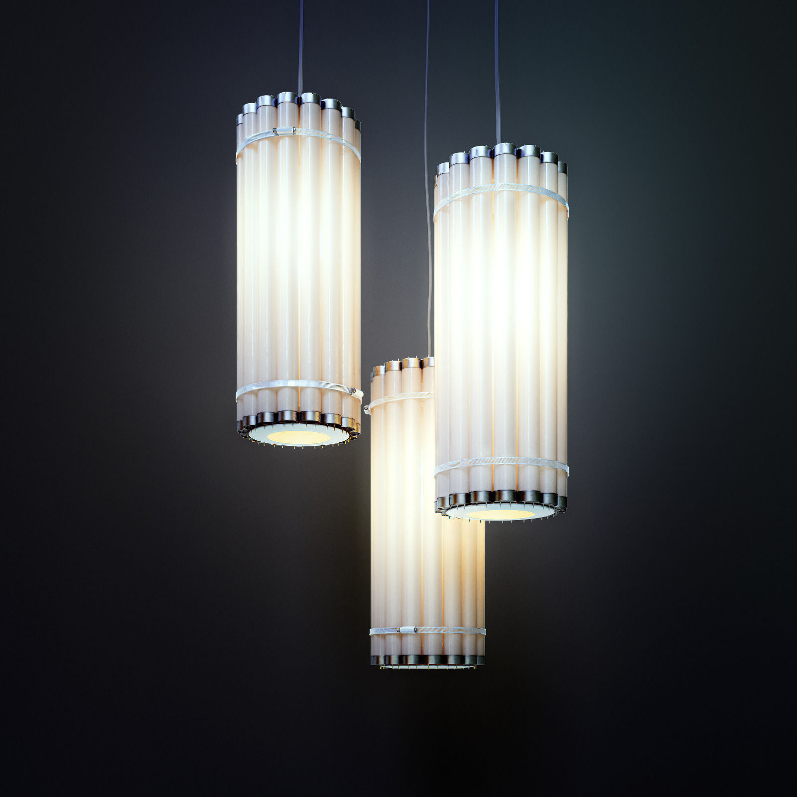 ECO Lamp Vertical Tube by CASTORDESIGN