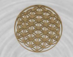 3d print model life flower