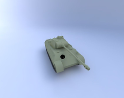 PzKpfw V Panther Ausf. A Tank 3D Model