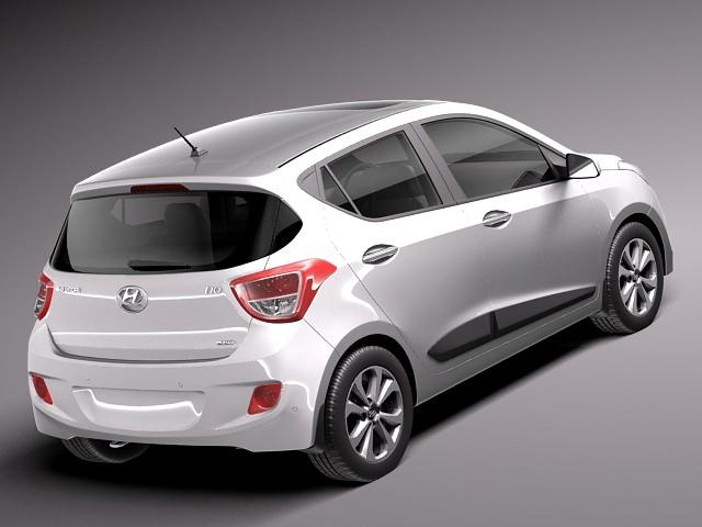 Hyundai i10 2014 3D Model .max .obj .3ds .fbx .c4d .lwo .lw .lws - CGTrader.com