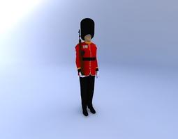 Buckingham Palace Guard 3D