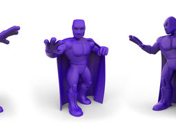 mexican wrestler el santo 3d printable model