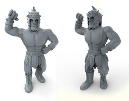 3D printable model Mexican Wrestler El Gladiator