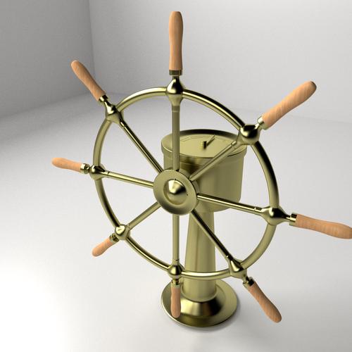 Ships Wheel3D model