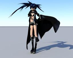 black rock shooter 3D Model