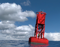 Ocean Buoy 3D model