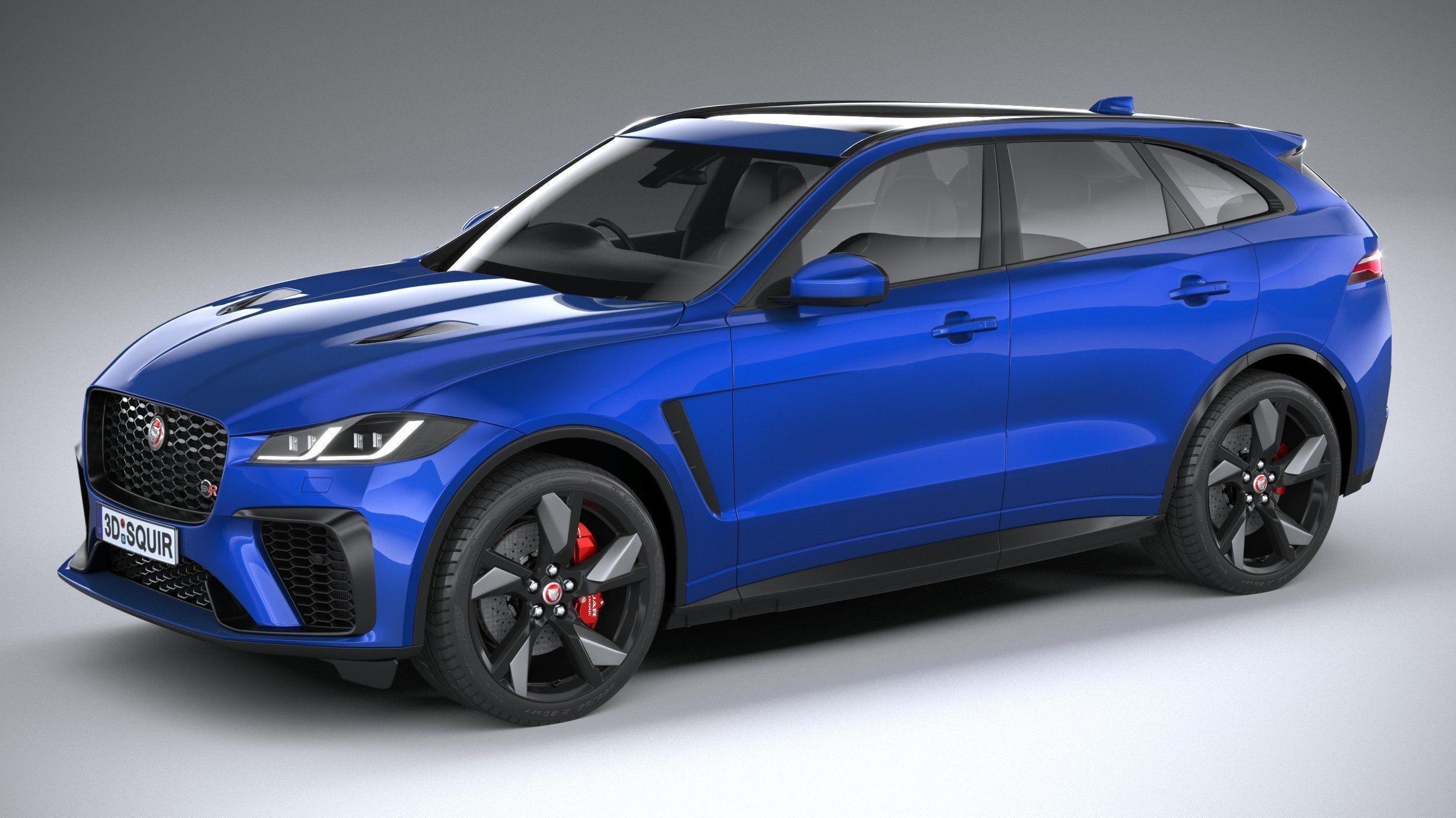 Jaguar F-Pace SVR 2021 3D | CGTrader