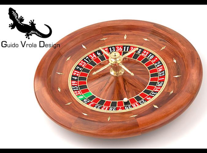 Roulette Wheel3D model