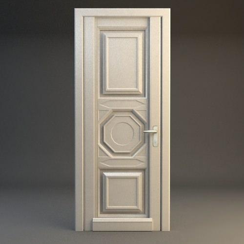 Wooden Door3D model