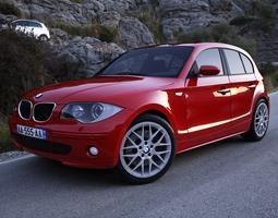 BMW Series 1 2008 3D Model
