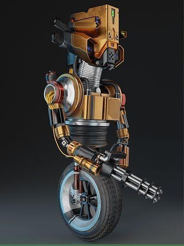 Sci-fi Robot  SINNER
