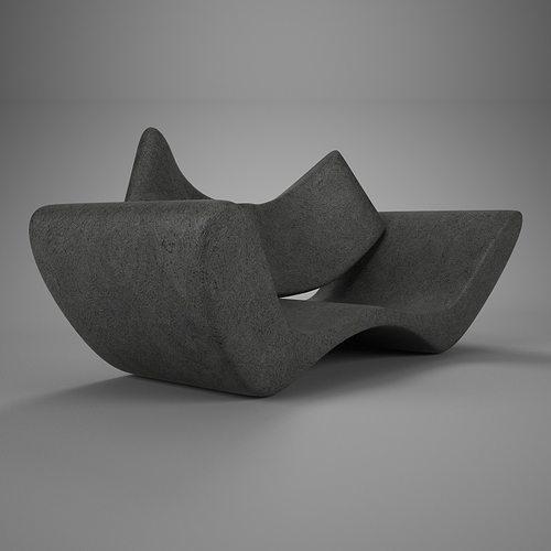 stucco simple vray materials 3d model max 1