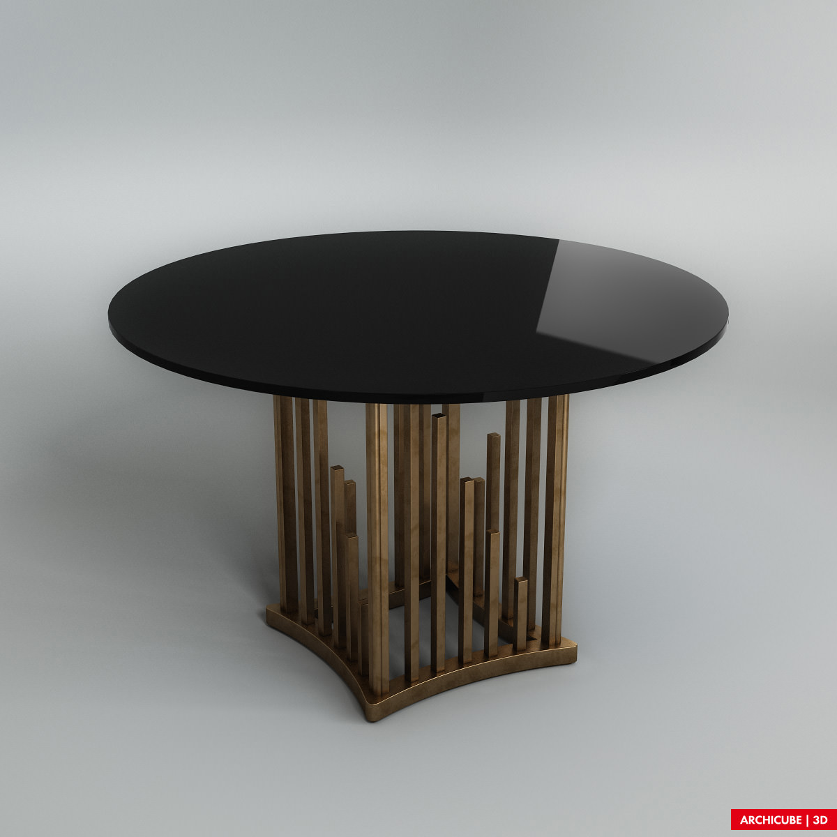 Dining table dining table 3d max free for Dining room table 3ds max