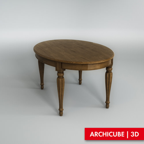 Dining table3D model