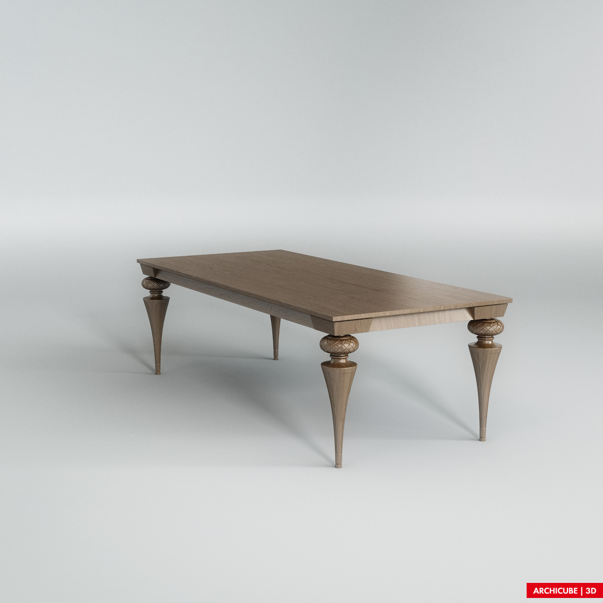 Dining table 003 3d model max obj fbx for Dining table latest model