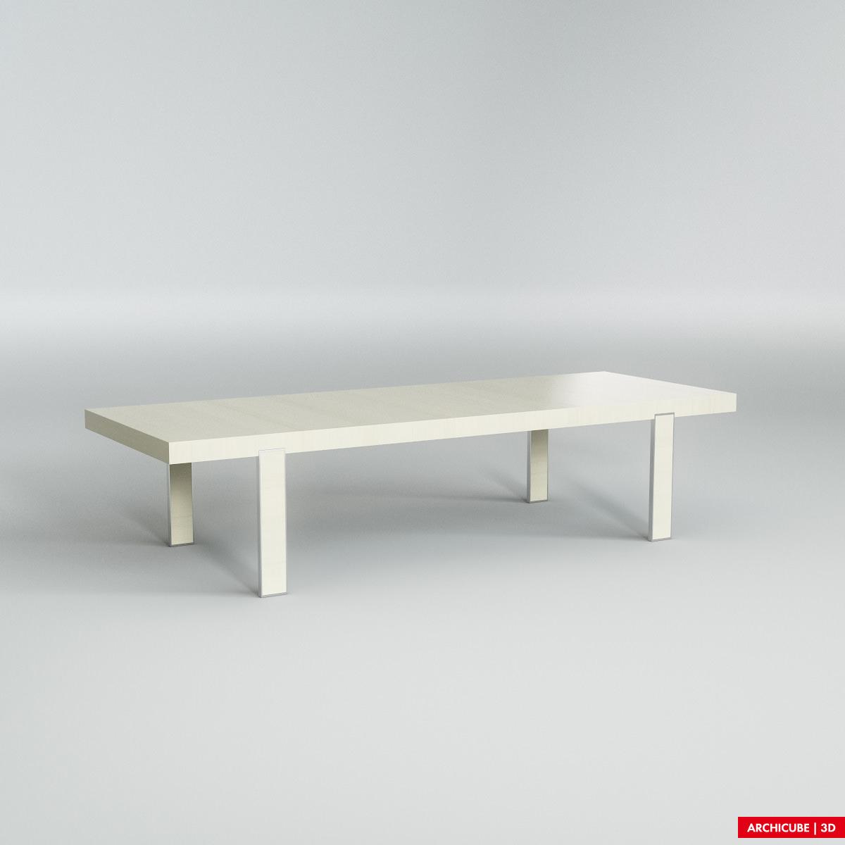 Dining table 3d model max obj fbx for New model dining table