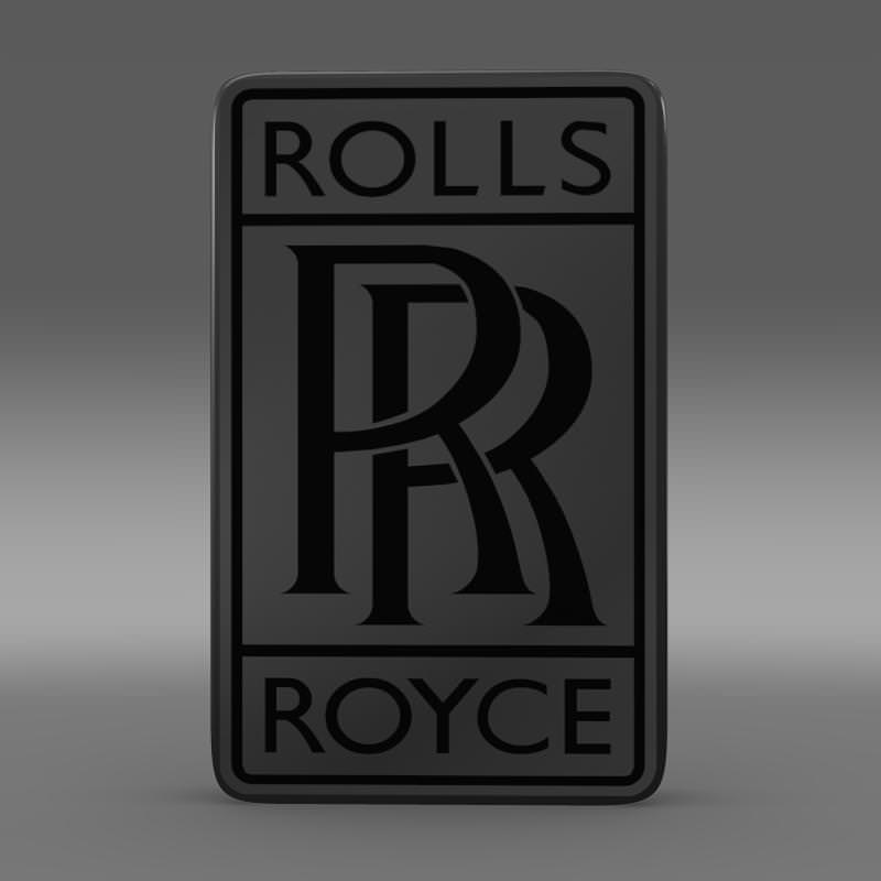 rolls royce logo 3d model max obj 3ds fbx c4d lwo lw lws. Black Bedroom Furniture Sets. Home Design Ideas